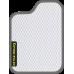Цвет коврика: Белый Цвет окантовки:  Тёмно-серый