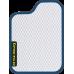 Цвет коврика: Белый Цвет окантовки:  Синий