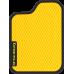 Цвет коврика: Жёлтый Цвет окантовки:  Чёрный