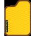 Цвет коврика: Жёлтый Цвет окантовки:  Коричневый