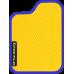 Цвет коврика: Жёлтый Цвет окантовки: Сиреневый